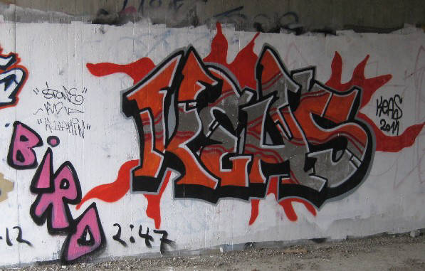 KEAS GRAFFITI CREW ZURICH SWITZERLAND